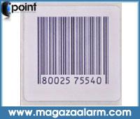4x4 Kağıt Alarm Etiketi